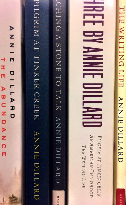 Happy birthday to author Annie Dillard! Come check out her works in our essays section!