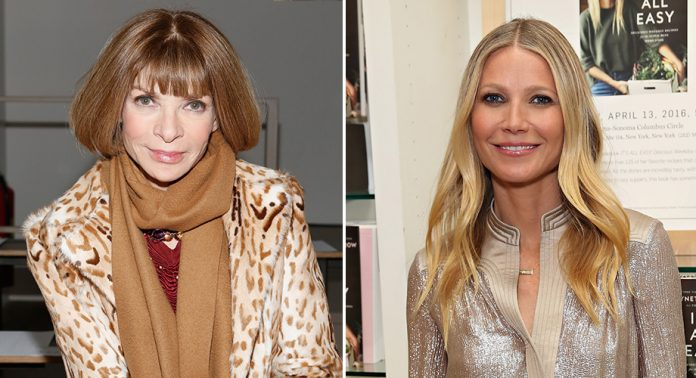 Anna Wintour y Gwyneth Paltrow planean crear nueva revista: https://t.co/glLOda10ol
