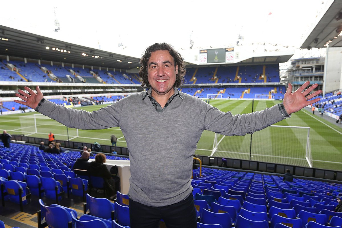 Great to welcome Micky Flanagan to White Hart Lane this afternoon. We...