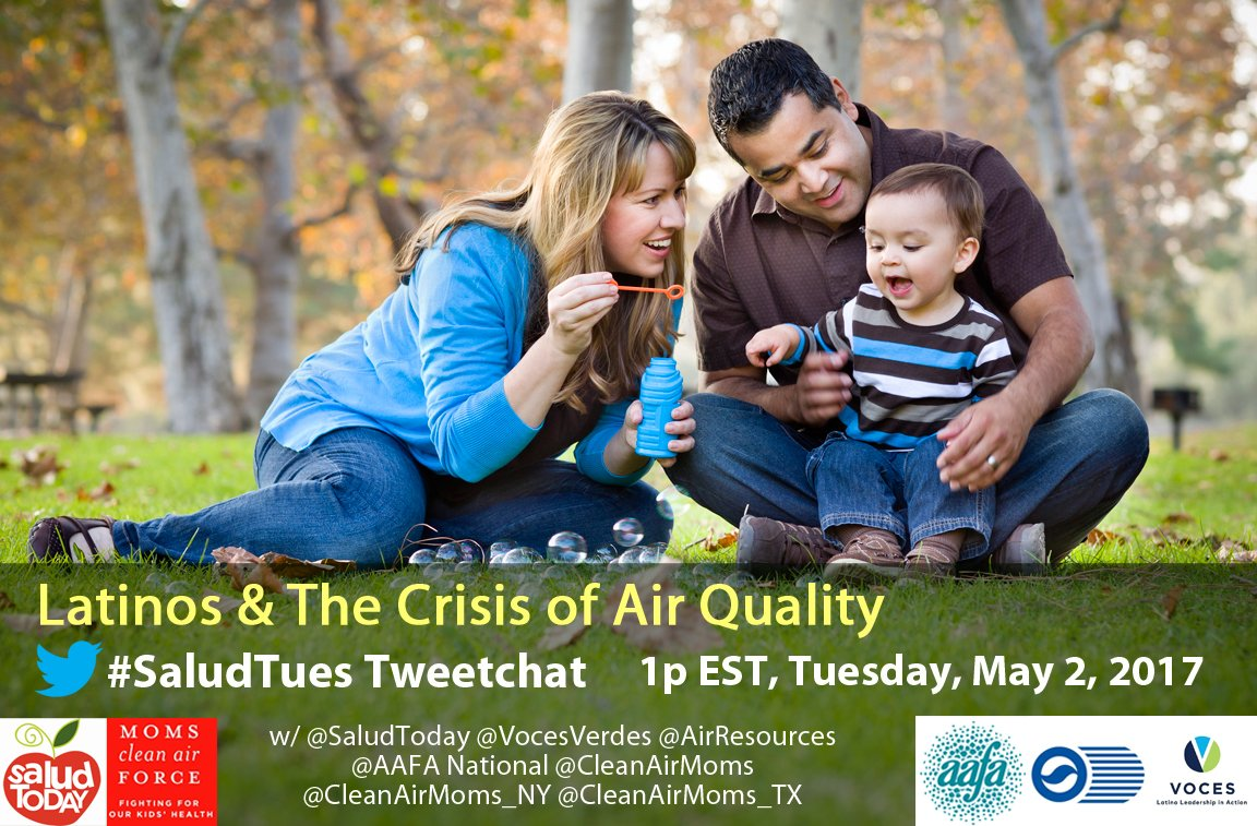 Thumbnail for #SaludTues: Latinos and the Crisis of Air Quality