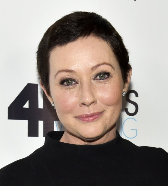 'I am blessed.' Actress Shannen Doherty's breast cancer in remission a...