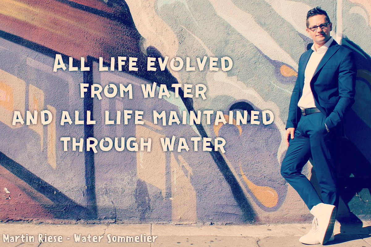 All #life evolved from #water and all life maintained through water #watersommelier <br>http://pic.twitter.com/uiPSxP9mxa