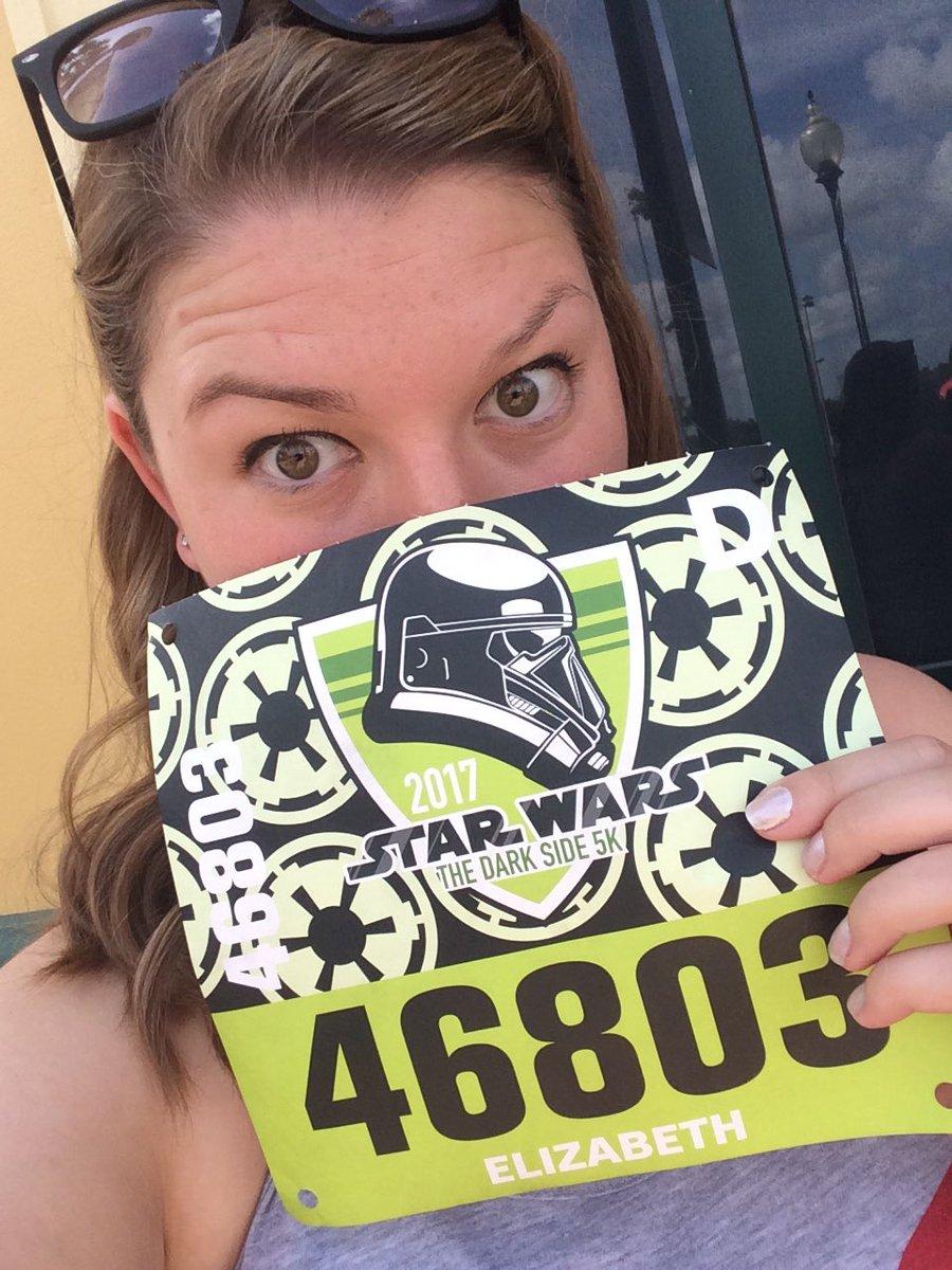 Still can&#39;t believe that I finished my #StarWars5k at #WaltDisneyWorld<br>http://pic.twitter.com/kYIsn2vL7i
