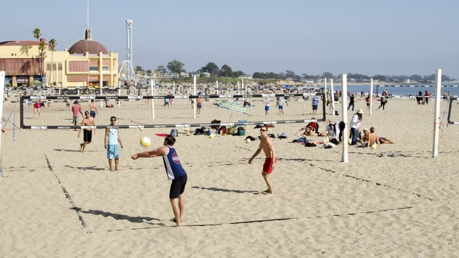 Man Killed At Santa Cruz Beach Boardwalk Volleyball Courts Https T Co