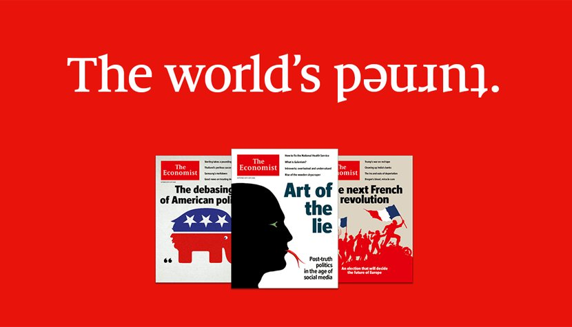 Keep a level head with clear thinking on world affairs from The Economist. Subscribe today and enjoy great savings https://t.co/z33i9ElbYs