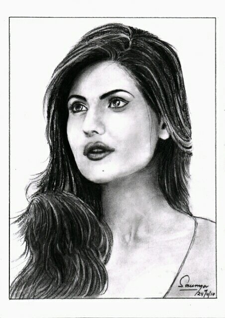 Hello mam im saumya ranjan sahoo pencil artist from bhubaneswar odisha and im big fan of your i drawn a pencil art of your how is it pic twitter com