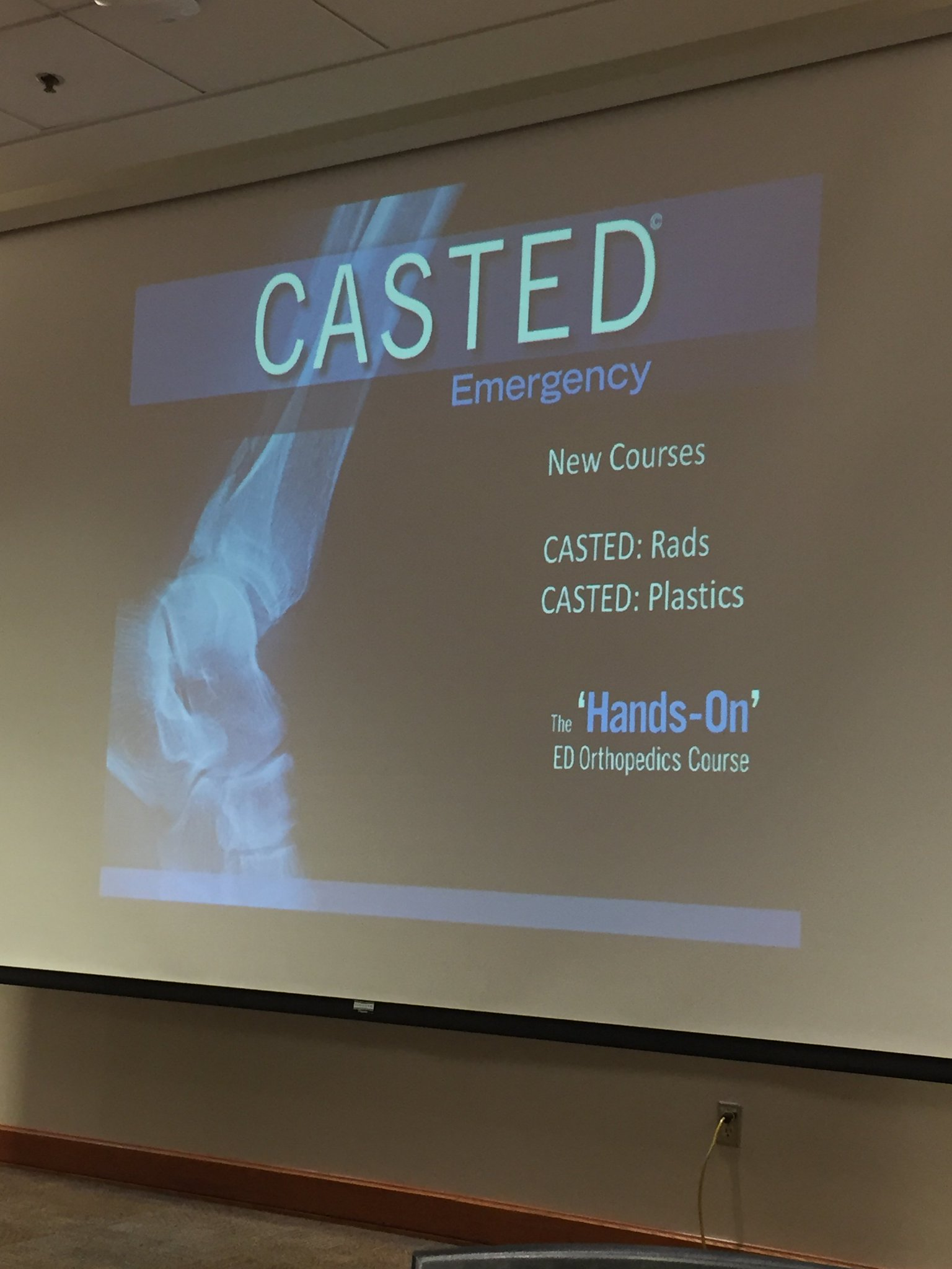 Thumbnail for Casted 2 Day Course at EMU17 #Casted