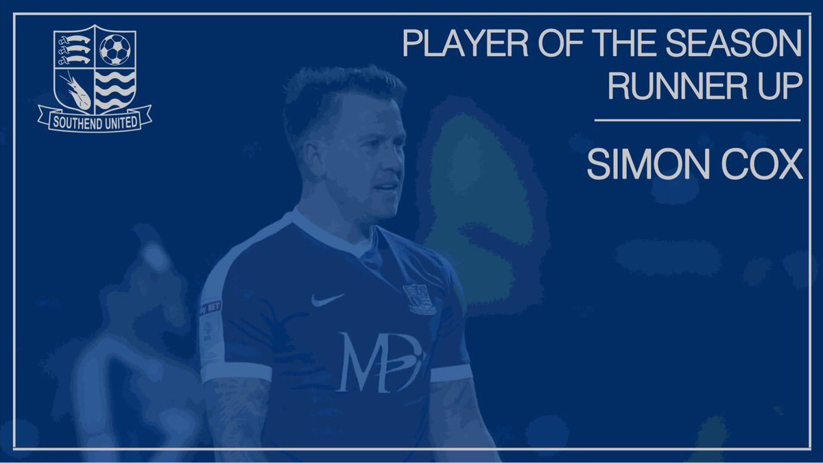 🏆  Player of the Season Runner-Up is @SCoxy31Real 🔵⚽  #BluesGalaDinner...