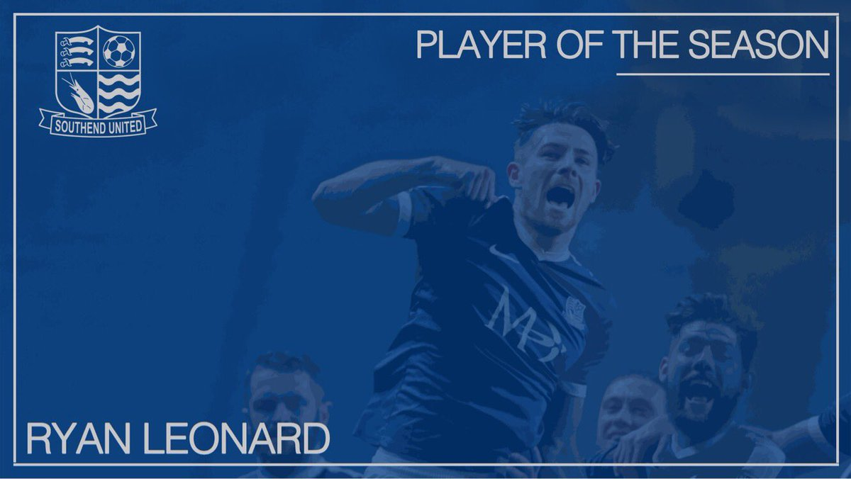 🏆  Congratulations to @lendog18 who wins Player of the Season 🔵⚽  #Blu...
