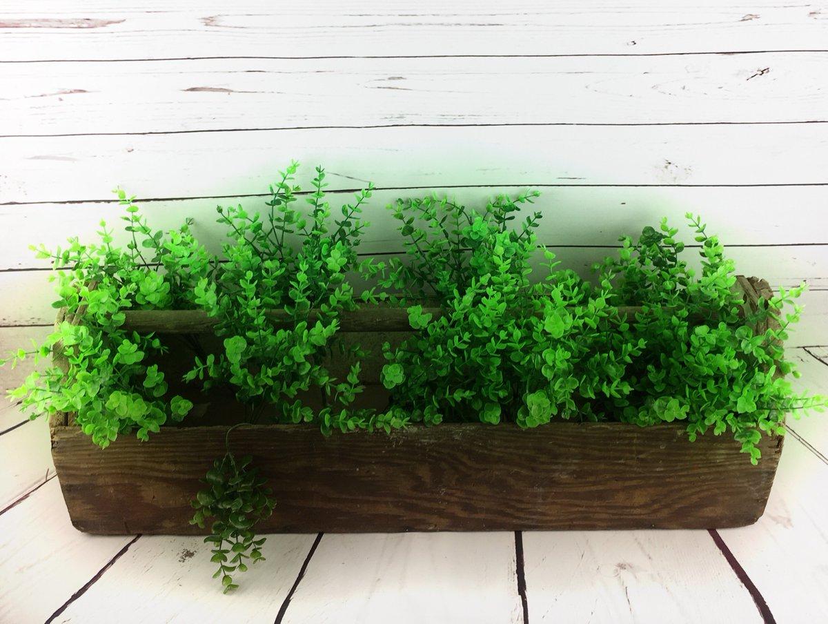 Coda Design Shop On Twitter Antique Wooden Toolbox Planter