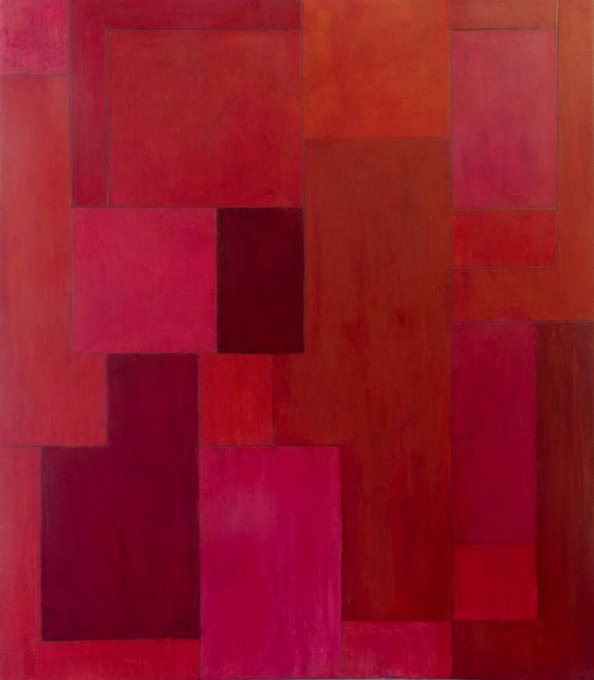 Saatchi Art: red zone Painting by stephen cimini