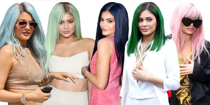 The Complete Evolution of Kylie Jenner's Hair
