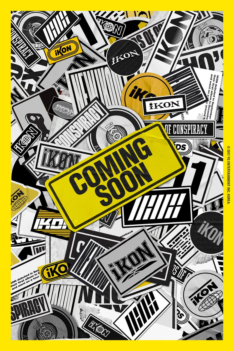 [iKON - COMING SOON] originally posted by https://t.co/XZQ3IOI9MY #iKON #아이콘 #NEWRELEASE #COMINGSOON #2017 #YG