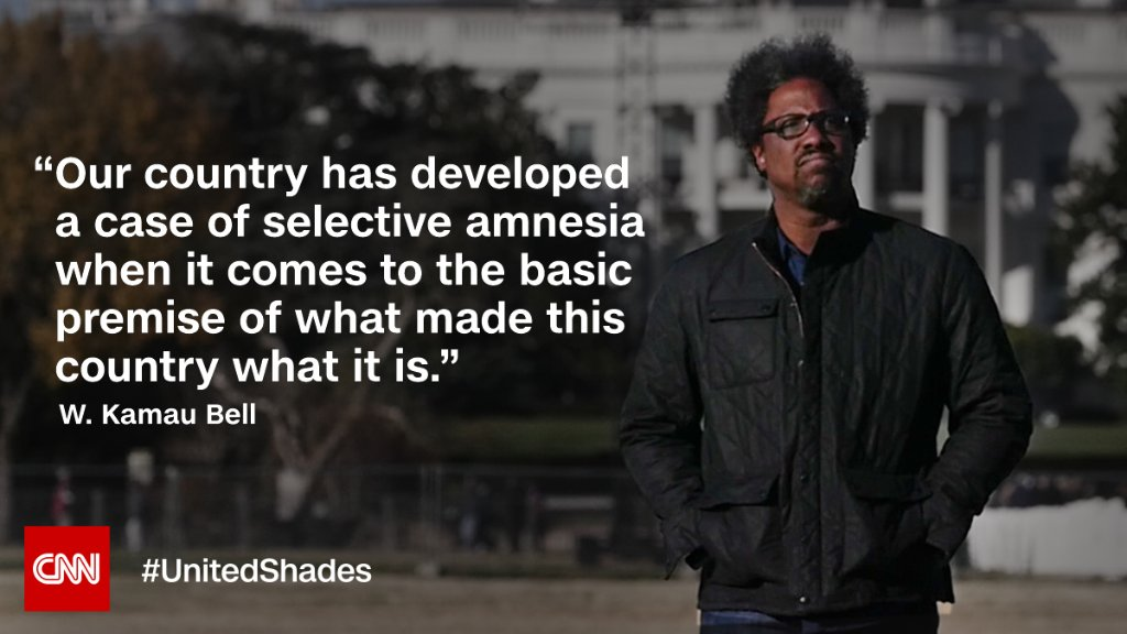 What made America what it is? @wkamaubell takes you across the country to find out. The new season of #UnitedShades starts tonight at 10p.