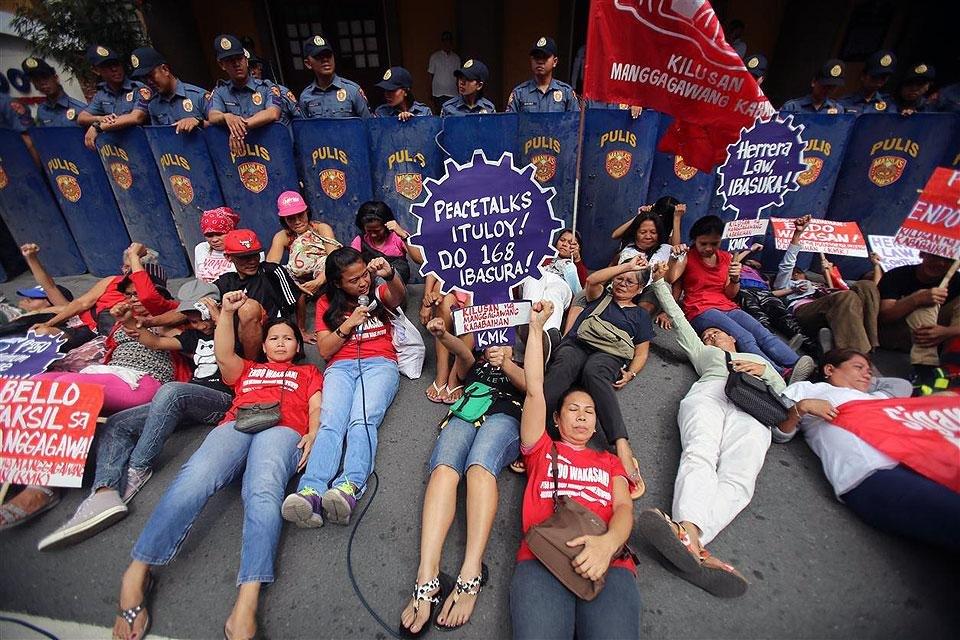 At least 28,000 members are expected to join Labor Day protests all over Bicol, a militant group said Monday. https://t.co/wzWAyykvo9