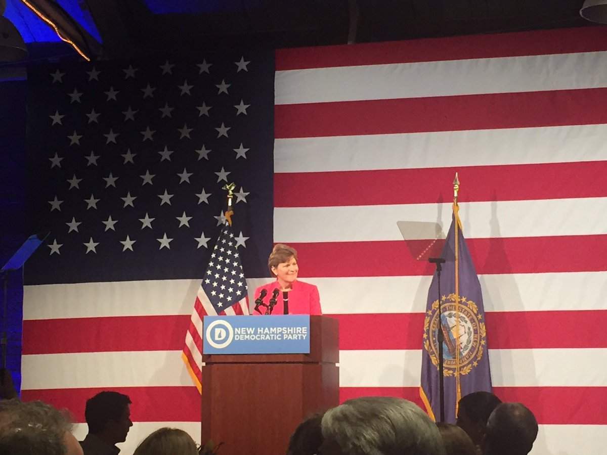 Happy to join NH Dems at the McIntyre-Shaheen 100 Club dinner tonight w/ special guest @joebiden #nhpolitics