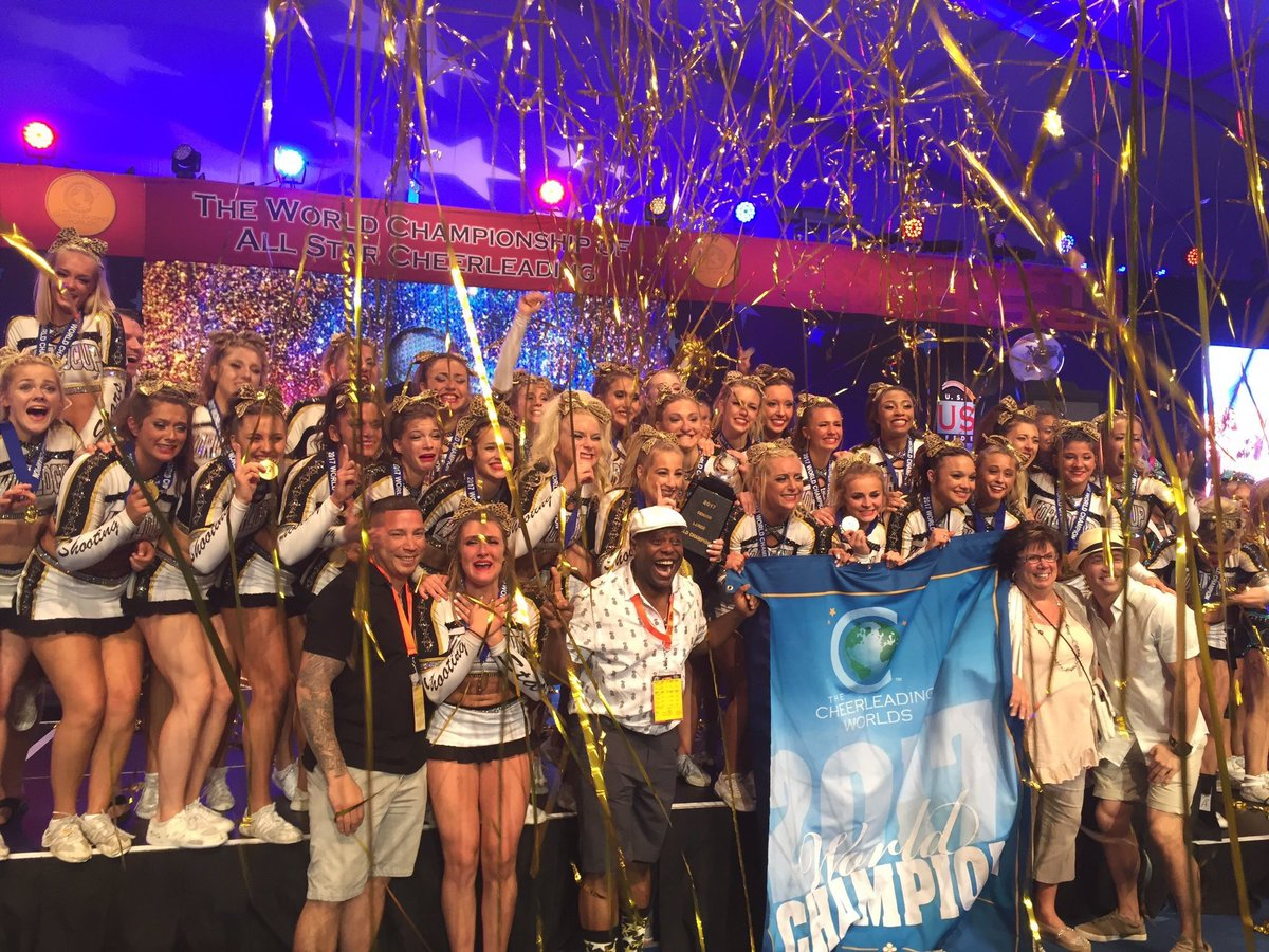 Cheer Is Everything On Twitter Your 5x World Champions World Cup Shooting Stars
