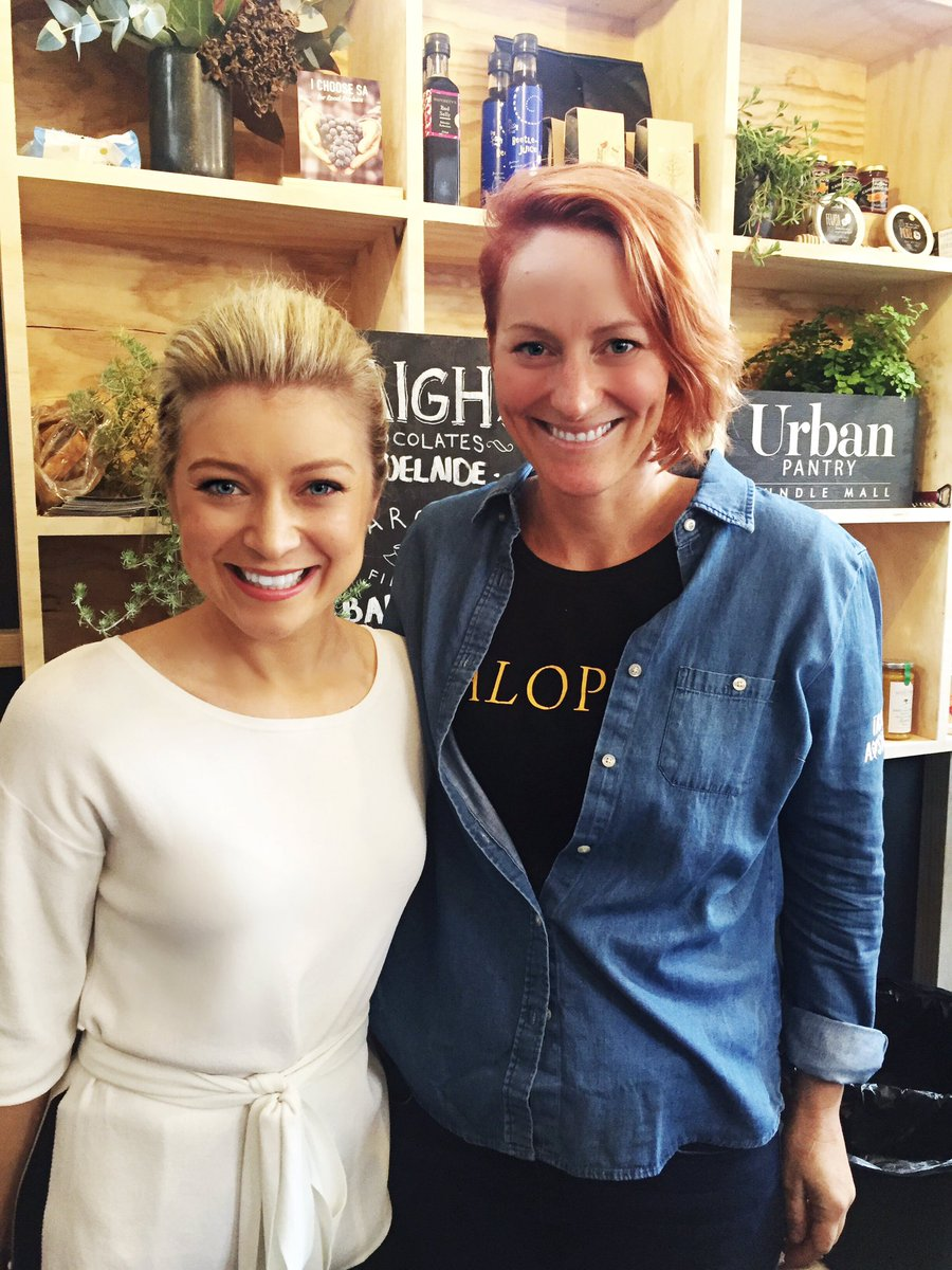 Just interviewed @TastingAus Ambassador Karena Armstrong from #SalopianInn. Q&A sessions on at @rundlemall #UrbanPantry every day this week!