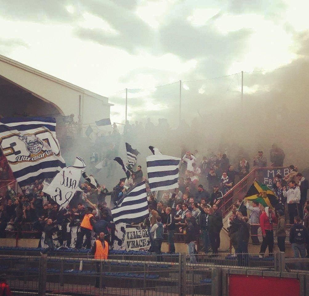 Les supporters bordelais en forme à Dijon !