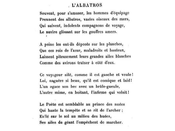 Lucía Nefertari On Twitter Baudelaire El Albatros El