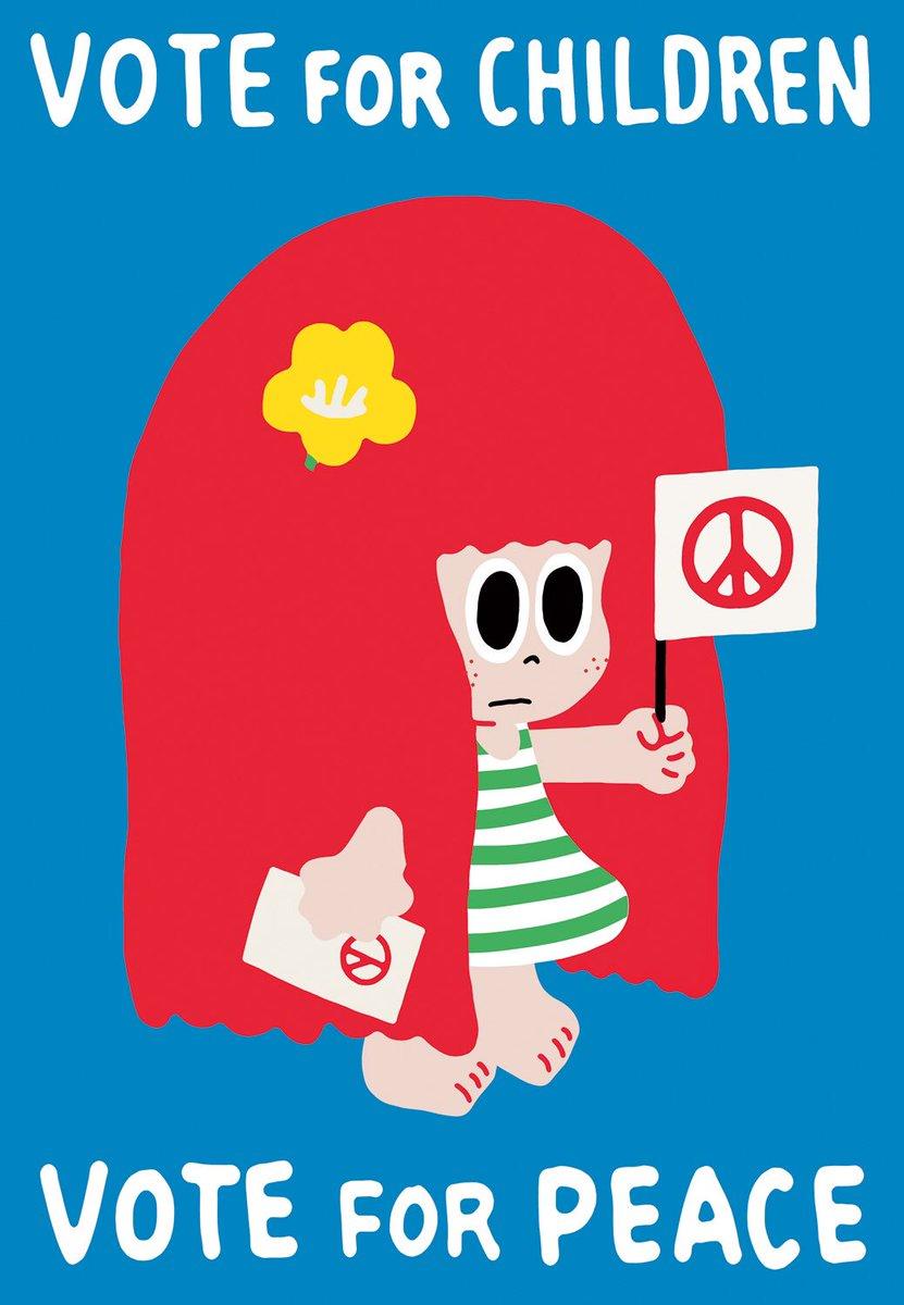 투표 독려 포스터 시리즈(총 4종)입니다. 자유롭게 사용하셔도 됩니다. 출력용 실사이즈 이미지를 원하시는 분은 leebido@hanmail.net 으로 메일 주세요. #vote_for_peace https://t.co/PtWZlj2vRd