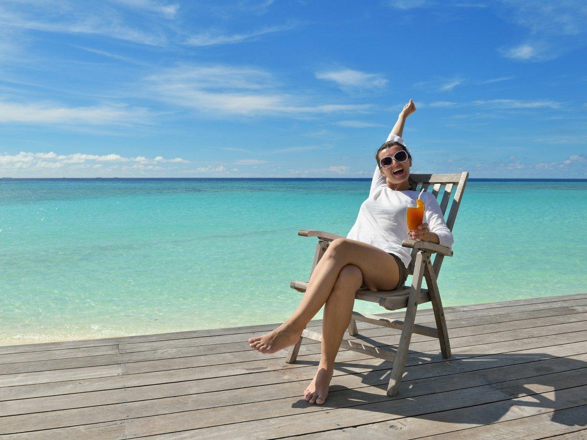Het ultieme vakantiegevoel = een verlengd weekend & verdiend niets doen...