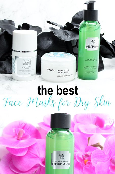 Best Face Masks for Dry Skin. Here's how to hydrate your face!