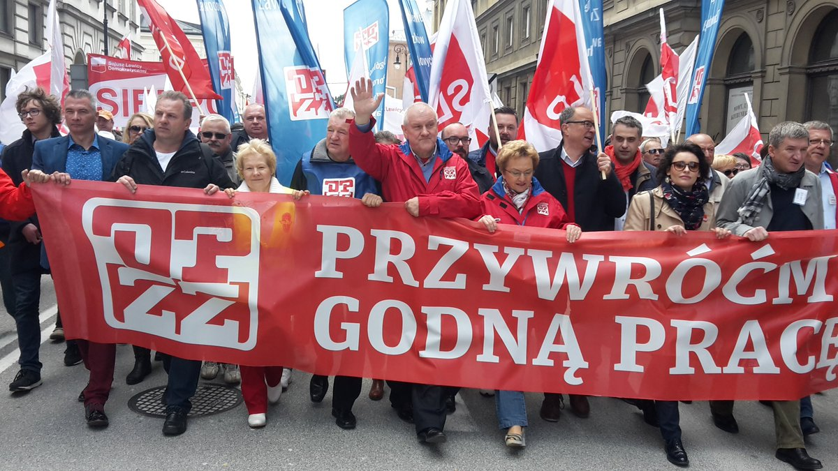 #MayDay demo in Warsaw