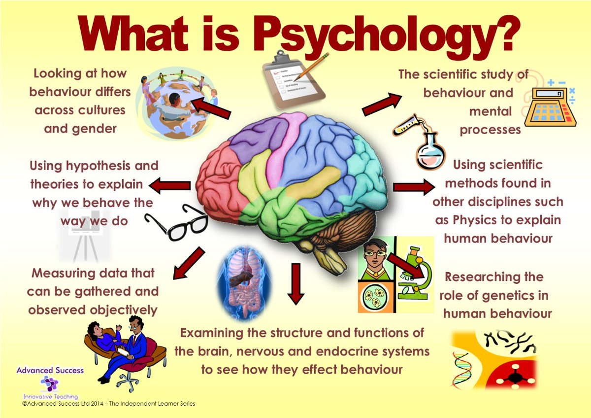the scientific study of behavior and mental processes