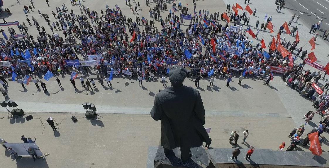 С Куликова поля эвакуируют людей из-за сообщения о минировании Дома профсоюзов - Цензор.НЕТ 1300