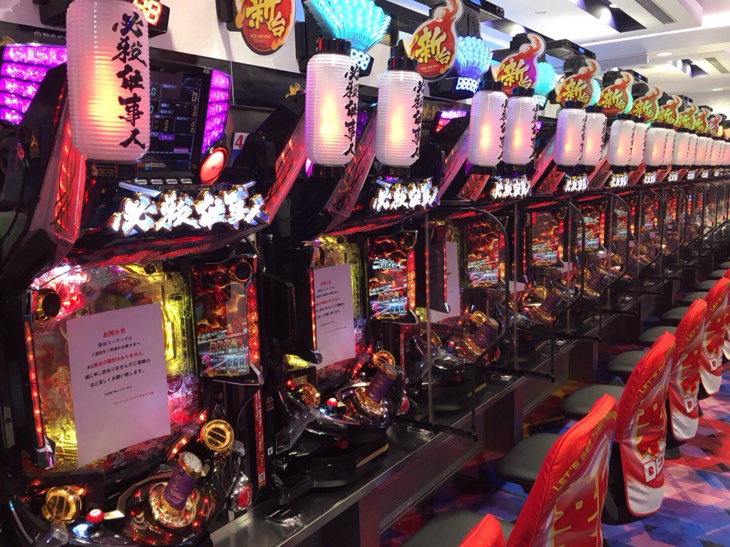 本日5月2日からCR必殺仕事人Vの先行導入スタート/栄店に20台導入