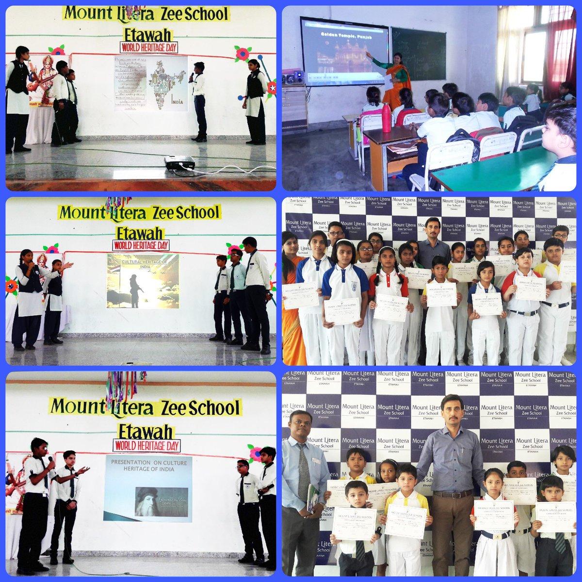 Zee School Etawah On Twitter Our Heritage Our Virasat We