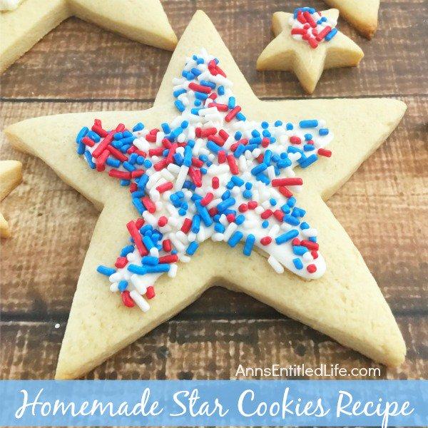 Homemade Star Cookies Recipe
