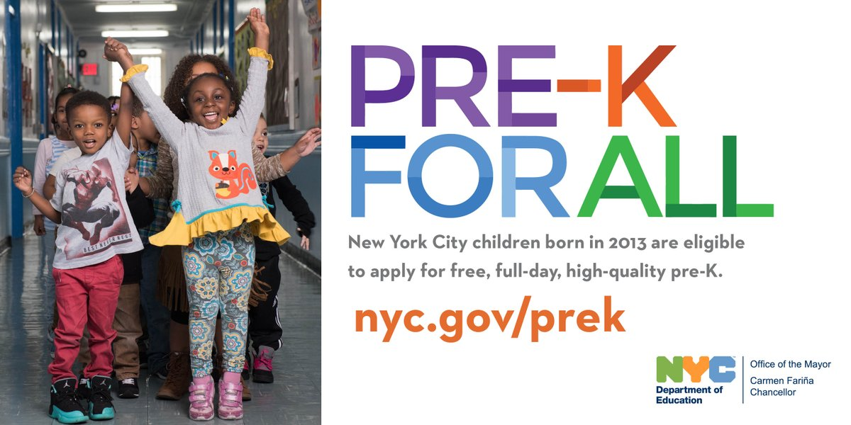Nyc Public Schools On Twitter Havent Applied To Prekforall Yet