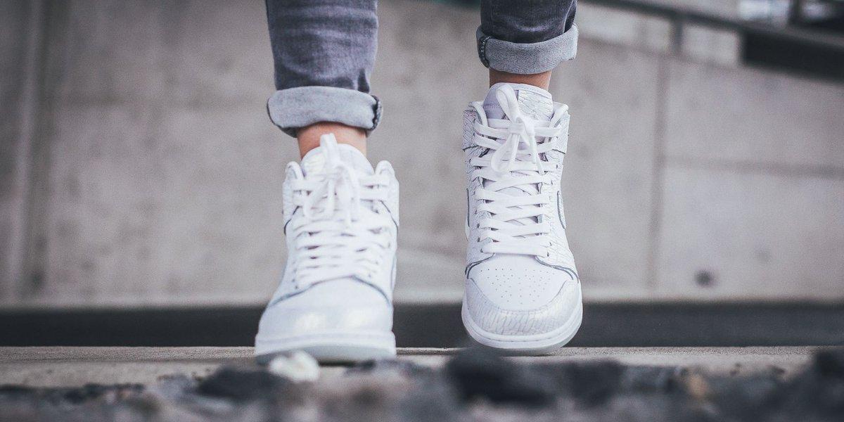 Air Jordan 1 Retro Hi Premium Hc Gg - White White-Pure Platinum SHOP HERE   http   bit.ly 2pyR4WM pic.twitter.com 5idKMpWFEJ. 6 00 AM - 1 May 2017 d38f04356
