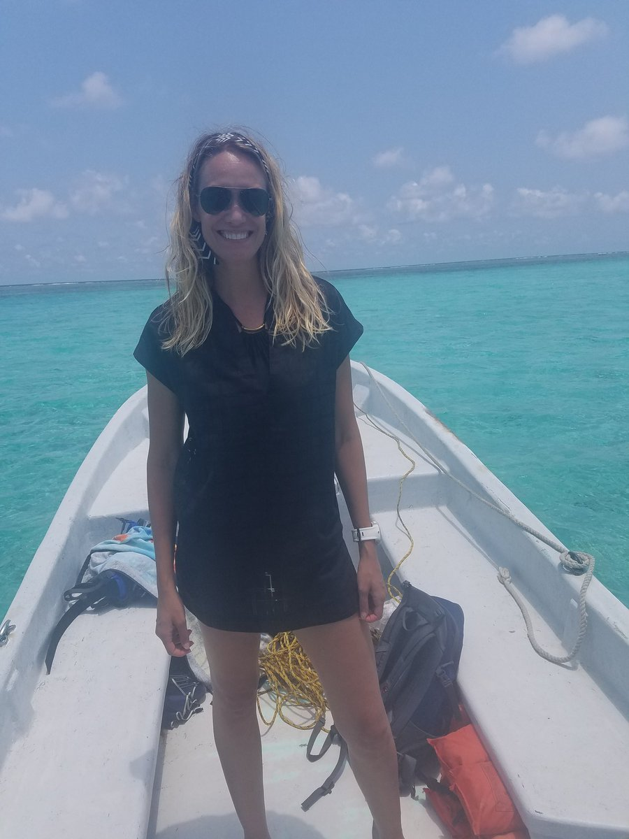 Hi from the #BlueHole #Belize. Make every moment of your life count!! #bucketlist  #mondaymotivation