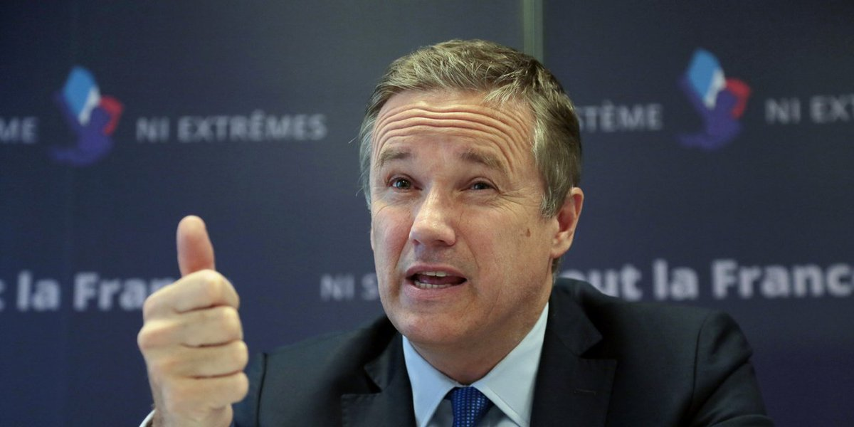 French right splits as Nicolas #Dupont-Aignan backs neo-fascist #LePen | World Socialist Web Site  http:// ow.ly/xYPw30bjWvS  &nbsp;  <br>http://pic.twitter.com/eQGfNcXpFc