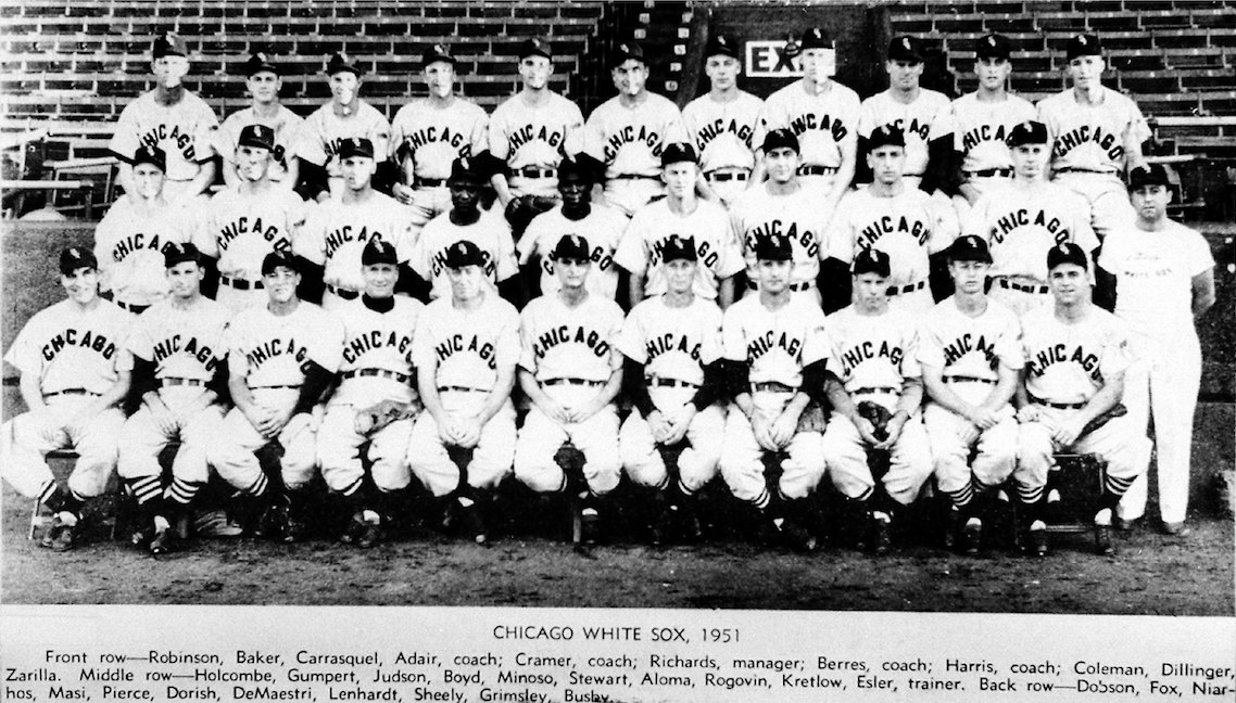 OTD In 1951 Minnie Minoso Broke The White Sox Color Barrier His First Plate Appearance Homered Off Vic Raschi Of Yankeespictwitter