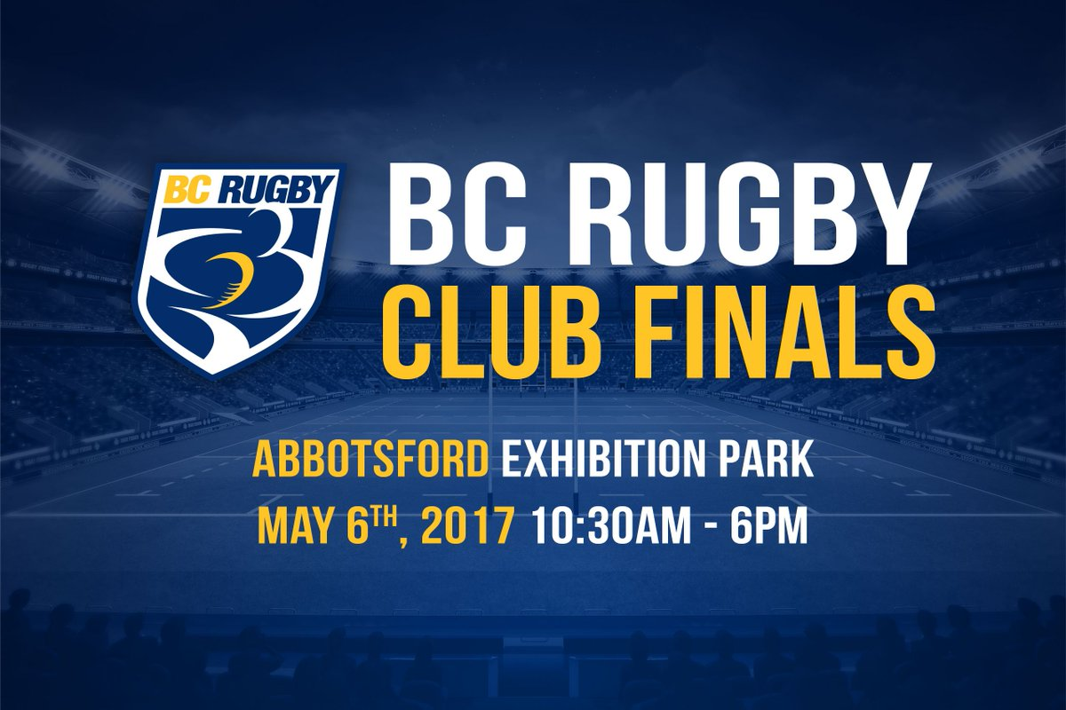 9 Divisional Titles Up for Grabs at BC Rugby Club Finals This Weekend! Read more here: https://t.co/wx8OIpxkvM https://t.co/lthKyPXtH0
