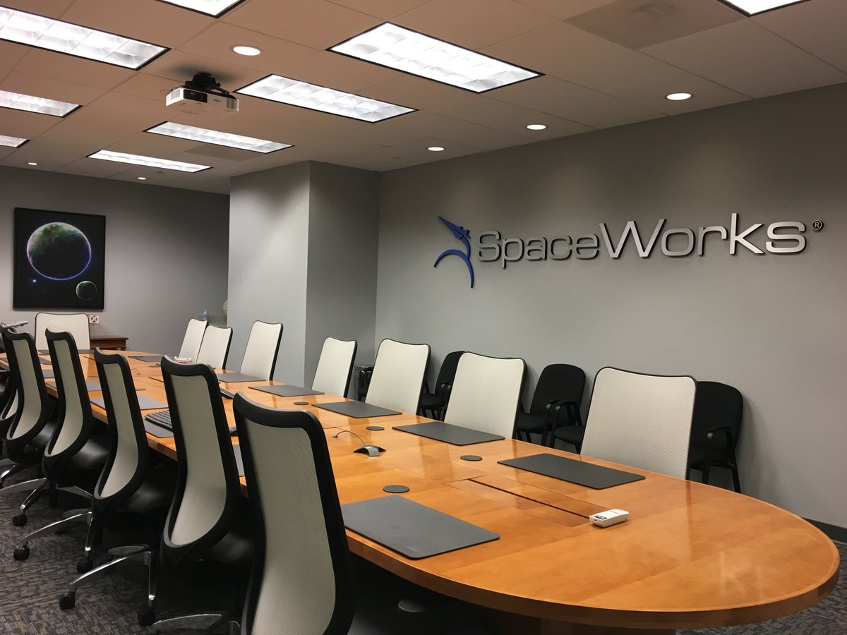 "SpaceWorks on Twitter: ""All settled in to our new corporate office at 1050 Crown Pointe Pkwy, Suite 1400 in Atlanta. Loving the much needed room!"