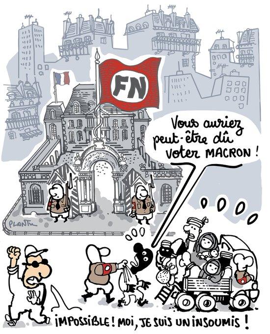 LE RISQUE. Le dessin de L'Express de cette semaine.