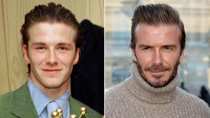 "People \""Happy birthday David Beckham!"