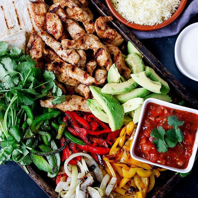I could do with one of these delicious fajitas from KitchenSanc2ary YUM!