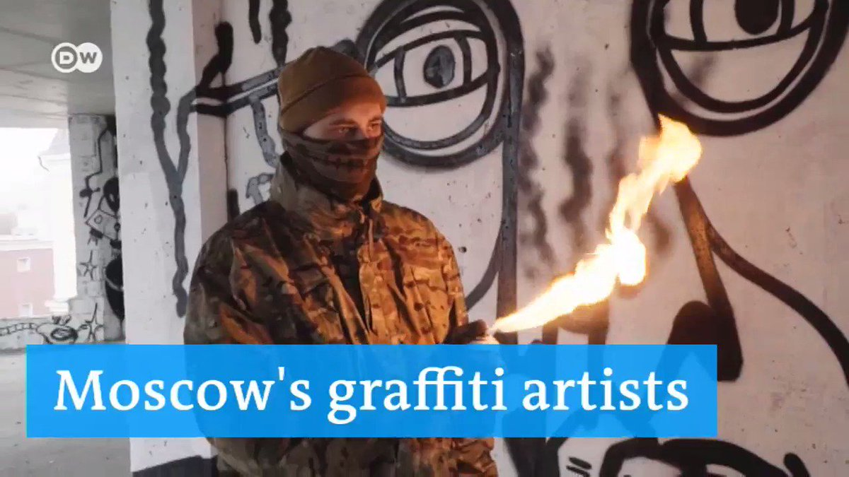They are not scared of the police as much as they are scared of the neighbors... #Moscow #Graffiti