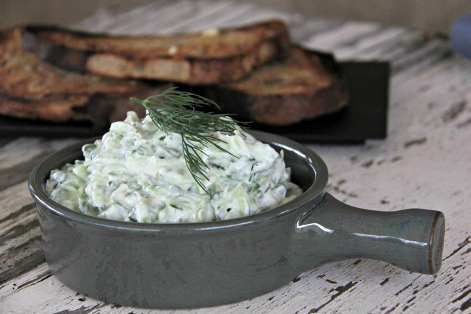 Greek Tzatziki Guaranteed to be Thicker and Stronger
