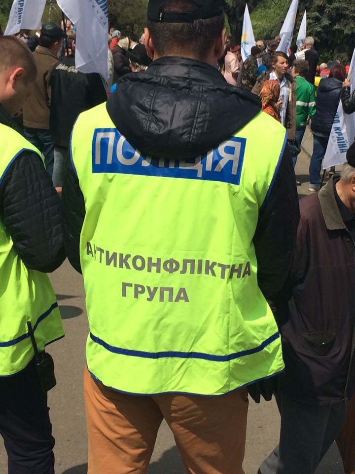 К охране общественного порядка на время Евровидения в Киеве приступили воины бригады быстрого реагирования Нацгвардии - Цензор.НЕТ 5028