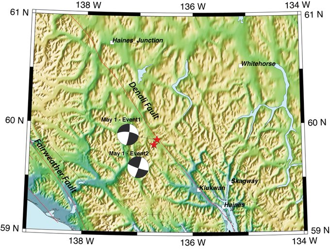alaska news strong earthquake near haines awakens southeast