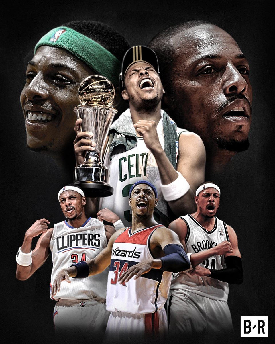 Thank you for 19 years, Paul Pierce.