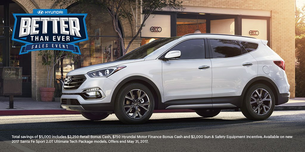 Hyundai Usa On Twitter Up To 5000 In Total Savings On A New 2017