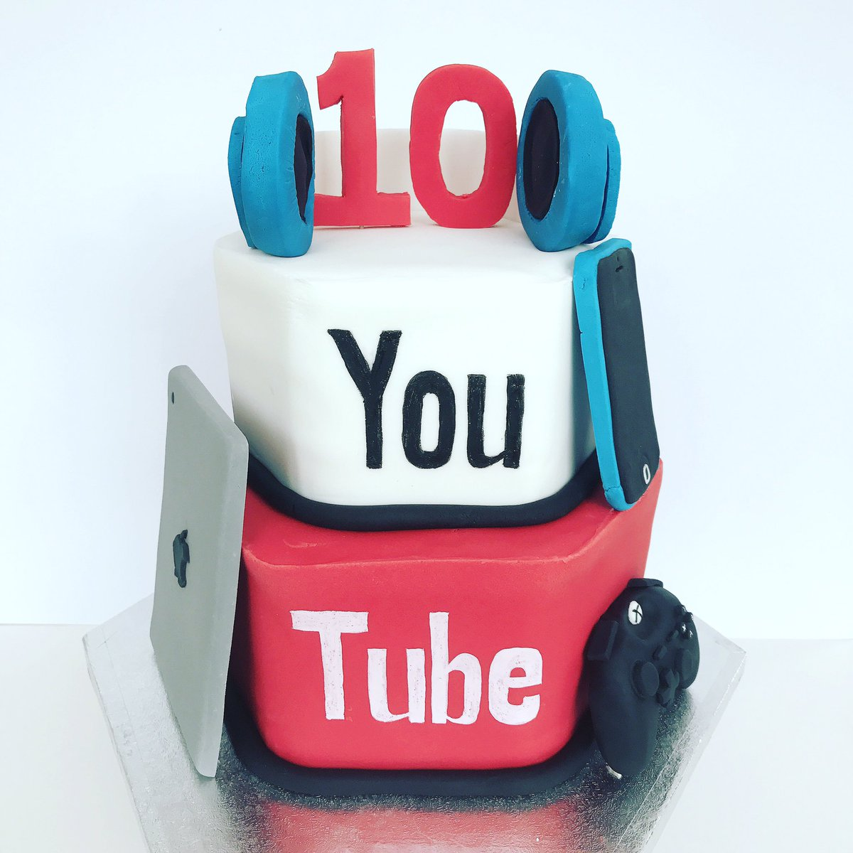 Awesome Tidbits Treats On Twitter Youtube Birthday Cake Personalised Birthday Cards Paralily Jamesorg